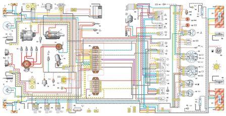 электросхема ваз нива