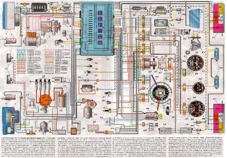 Ваз 2105 Электросхема