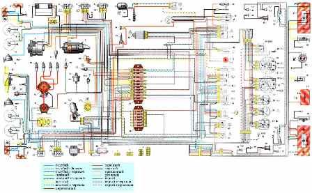 электросхема ваз 21213 подробная