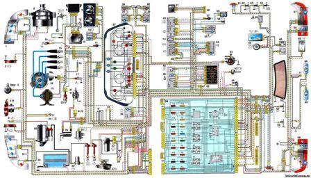 Ваз 2110 Ваз2111 Ваз2112 Электросхемы