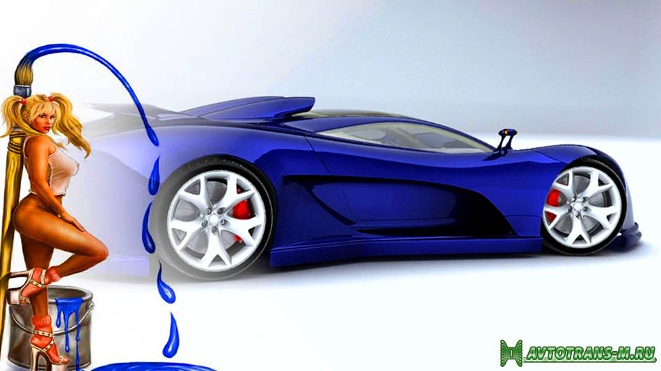 Профессиональная окраска авто: автомобиль станет как новый