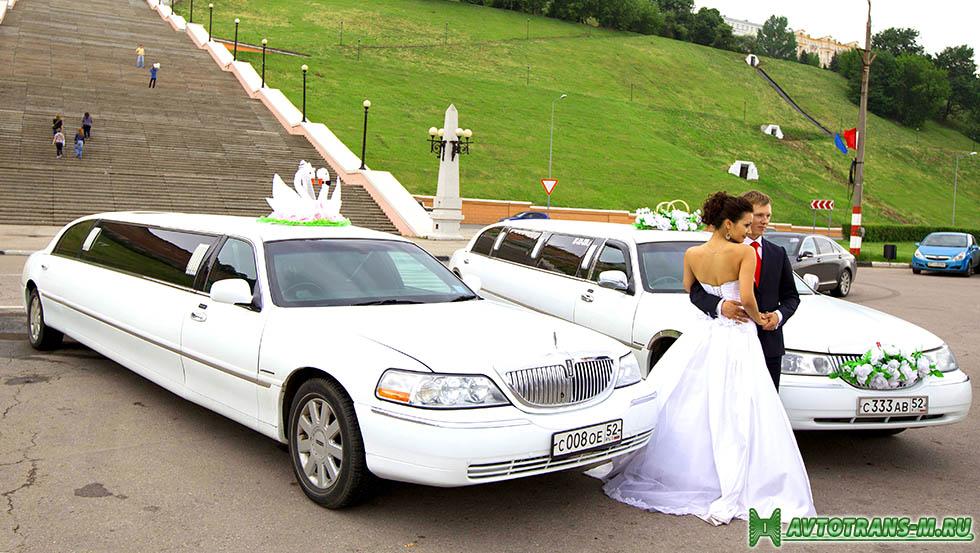VIP автомобили на свадьбу в городе Курске.