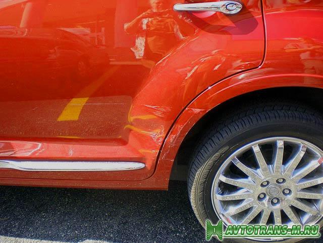 Как эффективно удалить с кузова автомобиля царапины