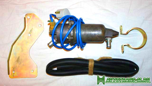 электроподогрев двигателя