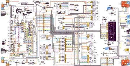 Электросхема Ваз 21214 Нива