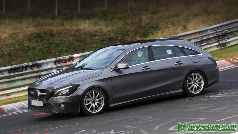 Mercedes-Benz выпустит универсал CLA Shooting Brake