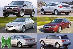 Автомобили Acura, которые могут приехать в Россию